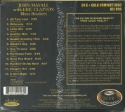 Mayall, John with Eric Clapton 24 Karat Gold CD Audio Fidelity N
