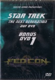 STAR TREK NEXT GENERATION FedCon Bonus DVD NEU OVP Sealed