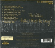 Collins, Phil Audio Fidelity 24 Karat Gold CD NEU OVP Sealed